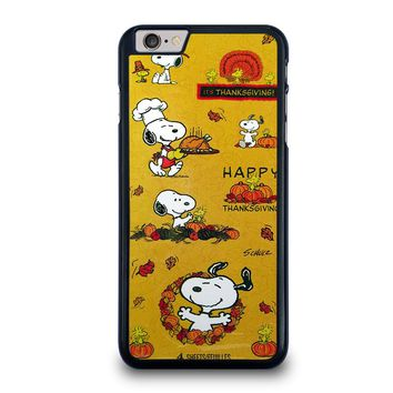 SNOOPY THE PEANUTS THANKSGIVING iPhone 6 / 6S Plus Case Cover