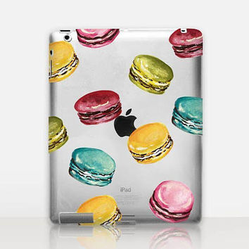 Macaron Transparent iPad Case For - iPad 2, iPad 3, iPad 4 - iPad Mini - iPad Air - iPad Mini 4 - iPad Pro