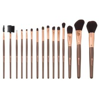 15 Piece Rose Gold Makeup Brush Set | BH Cosmetics