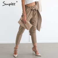 Chiffon high waist harem pants - 3 colors