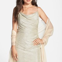 Women's Bernie of New York Silk Chiffon Wrap