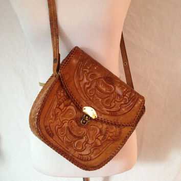 Mexican Hand Tooled Leather Purses Best Purse Image Ccdbb