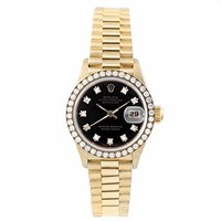 Rolex Datejust swiss-automatic womens Watch 69138 (Certified Pre-owned)