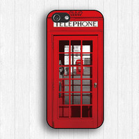 London Telephone Booth iPhone 5s Case, Telephone iPhone 5 Case,Telephone IPhone 4 case,London Telephone IPhone 5c case