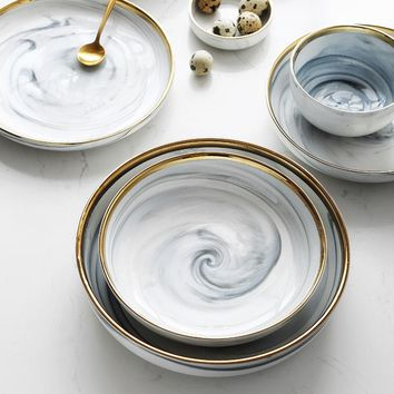 The ZORA Collection | MICA Dipped Dinnerware