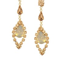 Krystal Swarovski Hanging Earrings