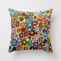 club soda Throw Pillow by Sylvie Demers