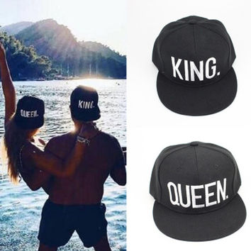 Couple Alphabet Innovative Stylish Outdoors Sports Hats [10688982023]