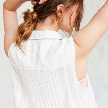 Kimchi Blue Nena Pintuck Tunic Top - Urban Outfitters
