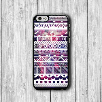 Light Galaxy White Aztec Art iPhone Cases, Purple for HIM iPhone 6 Cover, iPhone 6 Plus, iPhone 5 Hard Case, Rubber Deco Electronics Gifts