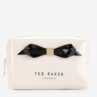 Large bow wash bag - Cream | Gifts for Her | Ted Baker UK