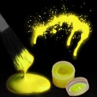 Glow in the Dark Body Paint (By The Color) (Yellow)