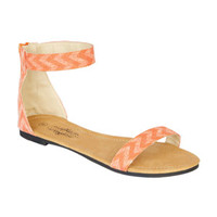 Delia's Ally Ankle Wrap Sandal