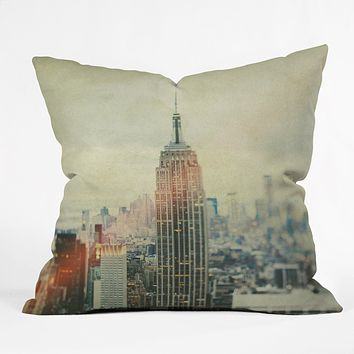 Chelsea Victoria Old New York Throw Pillow
