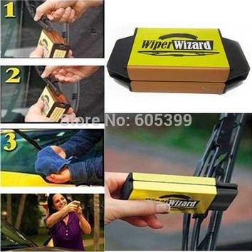 Wiper Wizard Windshield Wiper Blade Restorer Scourer Cleaning Tools As seen on TV free shipping