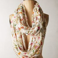 Blumen Infinity Scarf by Anthropologie Ivory One Size Scarves