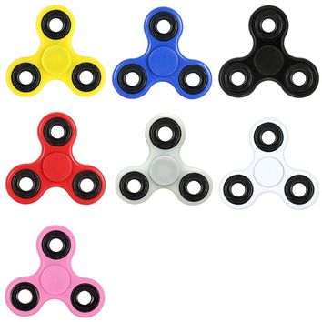 hand spinner New Creative Fidget Spinners Desk Anti Stress Finger Spin Spinning Top EDC Sensory Toy Gift for Children Kid Widget