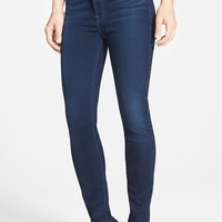 High Waist Ankle Skinny Jeans ,
