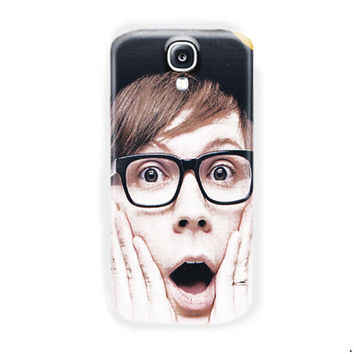 Fall Out Boy Patrick Stump Cute For Samsung Galaxy S4 Case