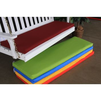 A&L Furniture Co. 5 ft Cushion For Benches And Porch Swings  - Ships FREE in 5-7 Business days