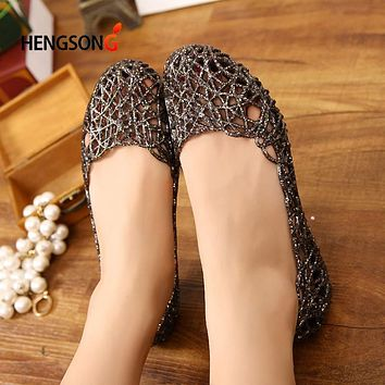 Women Casual Jelly Shoes Sandals