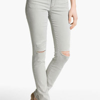 Joe's 'Cigarette' Straight Leg Stretch Jeans (Light Grey) | Nordstrom