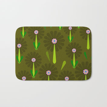 zappwaits Flower Bath Mat by netzauge