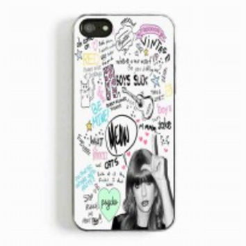 Taylor swift collage 2 for iphone 5 and 5c case