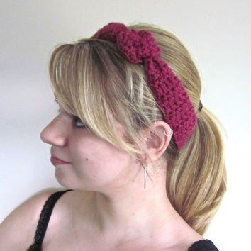 Crochet Headband The Outbound Headband in Antique by SalemStyle