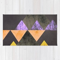 Marble Mountains Rug by sm0w