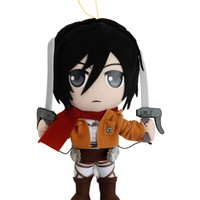 Attack On Titan Mikasa Plush