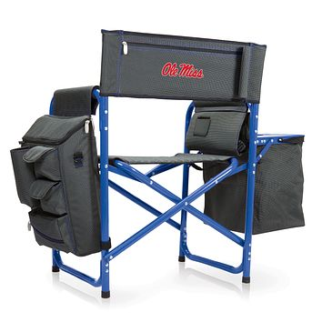 Ole Miss Rebels 'Fusion' Backpack Chair with Cooler