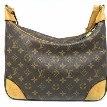Louis Vuitton Monogram Canvas Boulogne Shoulder Bag Brown M51265 LV
