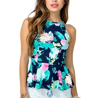 Blooming Beauty Peplum