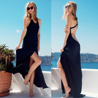 Sexy Backless One Piece Dress = 5826251009