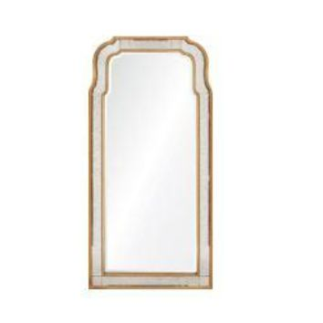 Hadspen Antiqued Gold Mirror by Michael S. Smith