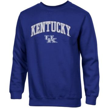 Kentucky Wildcats Basic Crew Neck Sweatshirt - Royal Blue