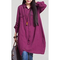 Women's Loose Blouse in 3 Colors