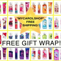 New Bath & Body Works 4 Pieces Gift Set - Pick Yours! Free Gift Bag and Ribbon!