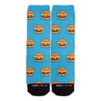 Function - Hamburger Pattern Fashion Socks