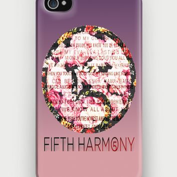 Fifth Harmony Floral iPhone Case | CrewWear