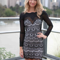 Falling From Grace Lace Dress