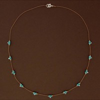 TURQUOISE TRAIL NECKLACE
