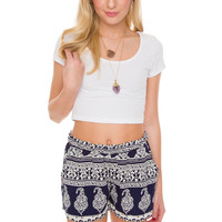 Lizbeth Shorts - Navy