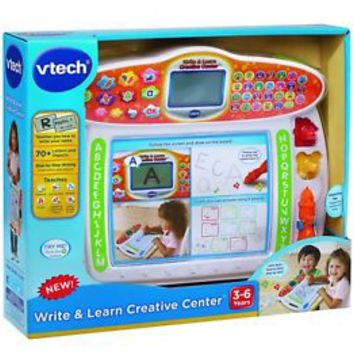 VTech Write Learn Creative Center Educational Toys Activities For 3 Year Old