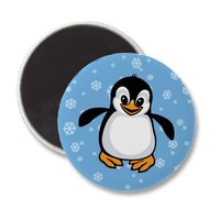 Pengy Fridge Magnet from Zazzle.com