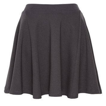 Jessica Faulkner Rosalie Black Circle Skirt