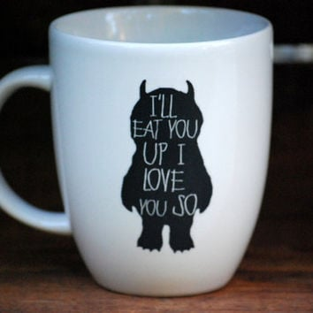 Coffee mug - where the wild things are