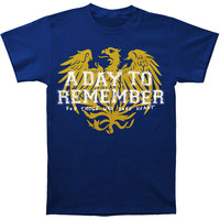 A Day To Remember Men's  Friends (Navy Blue) T-shirt Blue