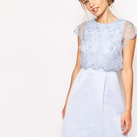Ted Baker Dress with Vintage Floral Detail
